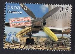 SPAIN ESPAGNE 2017 Humanitarian Aviation