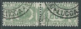 1927-32 REGNO USATO PACCHI POSTALI 2 LIRE - Z9-9