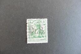 Allemagne Reich :Perfins Timbre Perforé D R B  Oblitéré - Allemagne