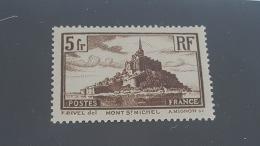 LOT 355191 TIMBRE DE FRANCE NEUF** N°260 VALEUR 45 EUROS