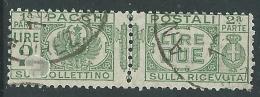 1927-32 REGNO USATO PACCHI POSTALI 2 LIRE - Z12-7