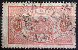 SUEDE             SERVICE 1874      N° 7   Dentelé 13             OBLITERE - Service