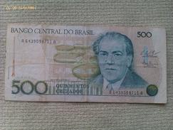 Billete Brasil. 500 Cruzados - Brasil