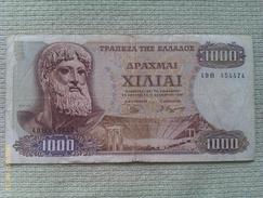 Billete Grecia. 1000 Dracmas. 1970. - Grecia