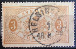 SUEDE             SERVICE 1874      N° 1   Dentelé 13             OBLITERE - Service