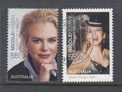 Australia  2009 Legends Of The Screen - Nicole Kidman Portrait & Moulin Rouge Used