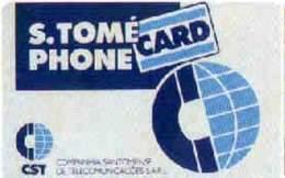 SAOTOME : STMD1 SAO TOME Phonecard (credit) USED - Sao Tome And Principe