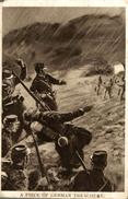 A PIECE OF GERMAN TREACHERY     ALEMAN   Militar (2scan) - Weltkrieg 1914-18