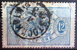 SUEDE             SERVICE 1874      N° 6B      Dentelé 14             OBLITERE - Service