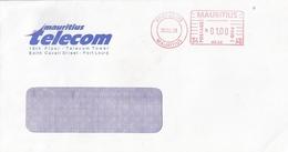 "Mauritius Maurice 1998 Port Louis Meter Franking Hasler ""Mailmaster"" HA 04 Domestic Cover - Mauritius (1968-...)"