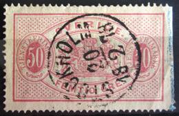 SUEDE             SERVICE 1874      N° 10B      Dentelé 14             OBLITERE - Service