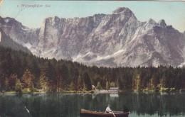 Weissenfelser See - Fusine In Valromana - Tarvisio (1722) * 15. III. 1919 - Udine