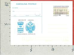 ITALIA REPUBBLICA CARTOLINA POSTALE MNH - 1999 - Brianza 1999 - £ 800 € 0,41 - C243 - Ganzsachen