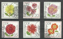"DDR 2435-2440 Satz Kpl..""Internationale Gartenbauausstellung Erfurt"" Gestempelt Sst. Mi.-Preis 3,60 €"