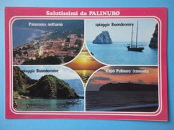 Palinuro - Centola - Salerno - Costa Del Cilento - Vedutine Panorama E Mare - Salerno