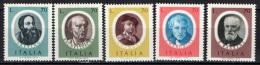 ITALIA - 1977 - ARTISTI ITALIANI - NUOVI MNH - 6. 1946-.. Republic