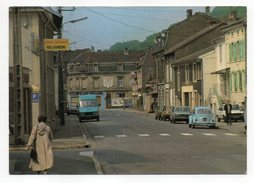 CLOUANGE--Rue Foch (animée,voitures VW,Renault 12 ),  Cpsm 15 X 10 N°3175  éd Europ...à Saisir - France