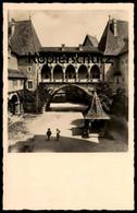 ALTE POSTKARTE BURG KREUZENSTEIN 2. BURGHOF GEGEN DEN KASCHAUERGANG Leobendorf Chateau Castle Kinder Enfants Cpa AK - Korneuburg