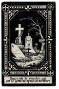 Bid Voor De Ziel, Nepomucenus VLOEBERGH (F. Van Asbroeck), Sint-Agatha-Rhode 1823 / 1890 - 2 Scans - Images Religieuses