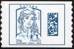 Autoadhésif(s) De France N° 1176,** Marianne De Ciappa  Et Kawena - Datamatrix Europe FOND BLANC (PRO) - Ongebruikt