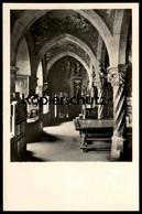 ALTE POSTKARTE BURG KREUZENSTEIN BIBLIOTHEK ÖSTLICHE WAND Chateau Castle Library Bibliothèque Postcard Ansichtskarte - Korneuburg