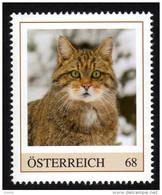 ÖSTERREICH 2016 ** WILDKATZE / Felis Silvestris - PM Personalized Stamps MNH - Felinos