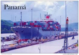 Lote PEP915, Panama, Postal, Postcard, Esclusas De Miraflores, Panama Canal - Panamá