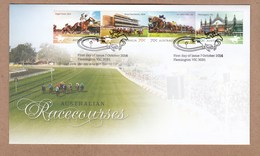 Australia  FDC 2014 Australian Horse Racecourses - Flemington Postmark
