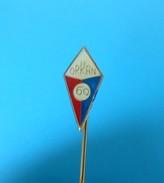 NK ORKAN Dugi Rat - Croatia Ex Yugoslavia Football Soccer Club 60. ANNIVERSARY Jubilee Pin Badge Fussball Calcio Futbol - Football
