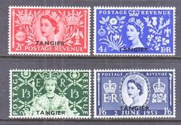 GREAT  BRITAIN  TANGIER  579-82   *  Q E II  CORONATION  1953 - British Levant