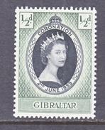 GIBRALTAR  131  *  Q E II  CORONATION  1953 - Gibraltar