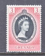 GRENADA  170  *  Q E II  CORONATION  1953 - Grenada (...-1974)