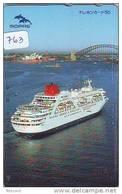 Télécarte JAPON * BATEAU * PHONECARD JAPAN * SHIP (763) TELEFONKARTE SCHIFF * Schip - Boot - Barco - - Boats