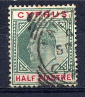 CHYPRE - 34° - EDOUARD VII - Chypre (...-1960)