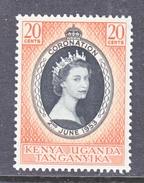 K.U.T.  101   *  Q E II  CORONATION  1953 - Kenya, Uganda & Tanganyika