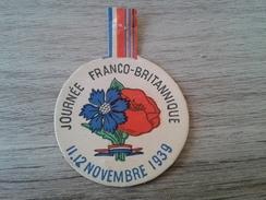 Insigne Journée Franco-britannique - 1914-18