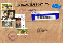 ILE MAURICE (MAURITIUS) Enveloppe En Provenance THE MAURITIUS POST LTD - PHILATELIC BUREAU Du 12.11.2012 - RARE - Maurice (1968-...)