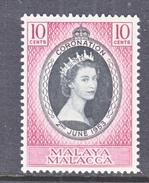 MALACCA  27  *  Q E II  CORONATION  1953 - Malacca