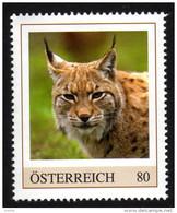 ÖSTERREICH 2016 ** Eurasischer LUCHS / Lynx Lynx - PM Personalized Stamps MNH - Felini