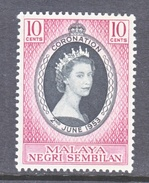 NEGRI SEMBILAN  63  *  Q E II  CORONATION  1953 - Negri Sembilan