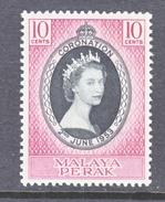 PERAK  126  *  Q E II  CORONATION  1953 - Perak