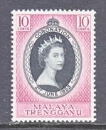 TRENGGANU  74  *  Q E II  CORONATION  1953 - Trengganu