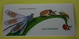 France 2017 - Série Nature : Les Insectes . Bloc Souvenir Neuf - France