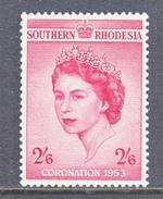 SOUTHERN  RHODESIA  80   *   Q E II  CORONATION  1953 - Southern Rhodesia (...-1964)