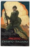Carte Illustrateur Signée Mauzan - Prestito Credito Italiano - 2 Scans - Mauzan, L.A.