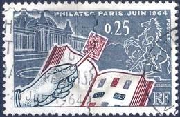 1403  EXPOSITION PHILATEC OBLITERE ANNEE 1963