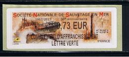 ATM, LISA2, COMPLEMENT, LV 0.73 €, 23/05/17, VANNES, 50éme ANNIVERSAIRE DE LA SNSM. FETE DU GOLFE DU MORBIHAN.