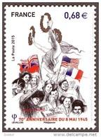 France N° 4954 ** 70 ème Anniversaire De Mai 1945