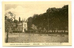 16000 ANGOULÊME - Lot De 2 CP - Institution Sainte-Marie De Chavagnes - La Chapelle Extérieur Et Intérieur - Angouleme