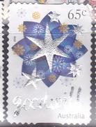 2016. AUSTRALIAN DECIMAL. Christmas. 65c. Star With Goodwill. Embossed. P&S. FU.